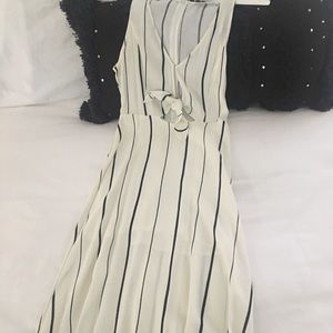 Astr black and ivory dress size small